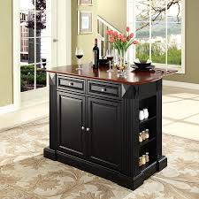Furniture Kitchen Islands Shop Crosley Furniture Black Craftsman Kitchen Island At Lowes Com