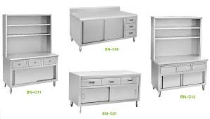 Stainless Steel Prep Table With Drawers Cabinet Kitchens Restaurant Equipment Stainless Steel Kitchen