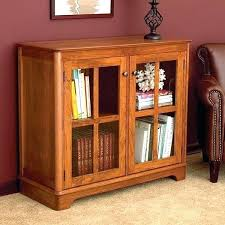 Bookcase With Glass Doors Bookcases With Doors From Everything About Secret Bookcase Doors