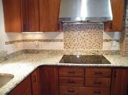 pics of backsplashes for kitchen kitchen blue glass tile kitchen backsplash with black countertops
