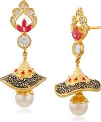 buy jhumka earrings online jhumka earrings buy jhumki online at best prices flipkart
