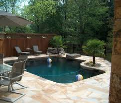 Backyard Pool Sizes by Standard In Ground Pool Shapes And Sizes Dengarden