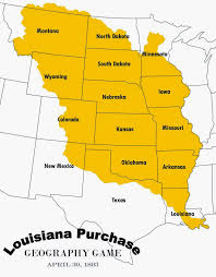 State Map Games by Relentlessly Fun Deceptively Educational Louisiana Purchase