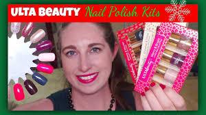 ulta beauty mini holiday nail polish sets 2016 youtube