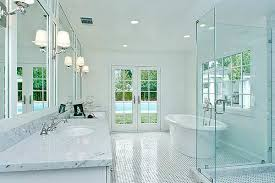 White Bathroom Lights Bathroom Lighting Trick And Planning Deannetsmith