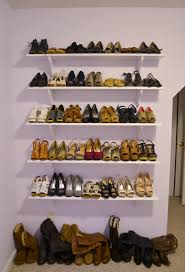 floating shelves for shoes home