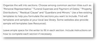 writing a legal will the worst advice we have seen yet