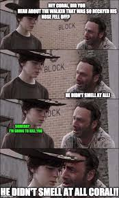 Walker Meme - ricks no nose walker imgflip
