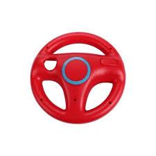 wii volante em vermelho para comandos wii