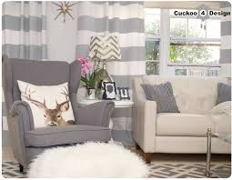 Grey And White Striped Curtains Where Is My Armchair Striped Curtains Indoor Outdoor Rugs And