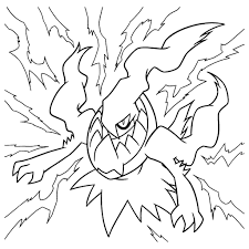 pokemon darkrai coloring page