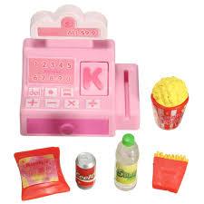 doll house accessories mini store shop cash register kit toy sale