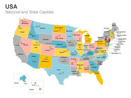 map us dc united states major cities and capital cities map us map with