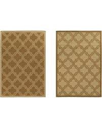 Quatrefoil Outdoor Rug New Savings On Linon Home Dcor Products Inc Hailey Reversible