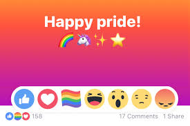 Six Flags Symbol What Does The Facebook Rainbow Flag Reaction Emoji Mean And How