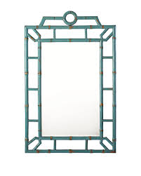decorating with mirrors blue bamboo mirror styling home decor