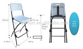 High Top Folding Table Wonderful Cheap Bistro High Top Folding Chair Bar Height Foldable