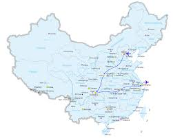 China On A Map by China Tour Program Fantastic China Tour 13 Days