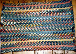 Braided Area Rugs Cheap Decorating Charming Multicolor Braided Rugs In Rectangle Design
