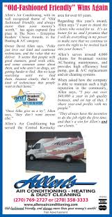 Always Comfortable Heating And Air Conditioning Allens Air Conditioning And Heating
