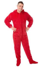 hoodie footed onesie plush drop seat footed pajamas with