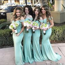 mint green bridesmaid dress 2017 lace mermaid bridesmaid dresses mint green