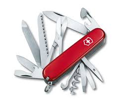 Swiss Kitchen Knives Ranger In Red 1 3763