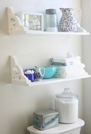 Small Bathroom Shelves Vintage Inspired Diy Shelves Hometalk