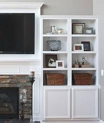 Bookshelf Around Fireplace Bookcases Around Fireplace Family Room Bookshelves Around