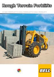 120a forklift bell equipment co sa pdf catalogue technical