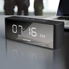 ravio mini 10w bluetooth speaker with alarm clock and radio