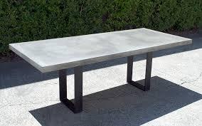 Concrete Patio Table Set Concrete Outdoor Dining Table Sydney Outdoor Designs