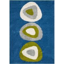 blue shag rug nameocean blue shag rug item medium image brown