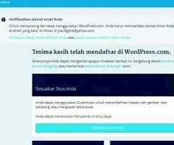 membuat website gratis menggunakan wordpress cara membuat website gratis di wordpress