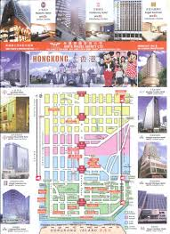 hongkong hotels map