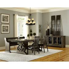 4 Piece Dining Room Set Magnussen Bellamy Wood Rectangular Dining Table Hayneedle
