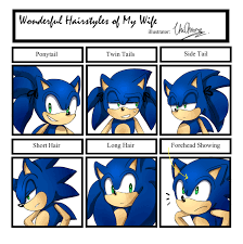 Sonic The Hedgehog Meme - sonic hairstyle meme by unichrome uni on deviantart