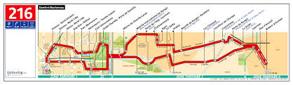 Bus Route Map by Ratp Route Maps For Paris Bus Lines 210 Through To 219