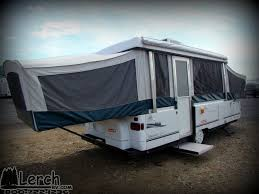 used 2001 coleman niagara elite pop up camper folding tent trailer