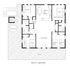 h shaped home design