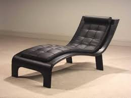 Chaise Lounge Chairs Wooden Leather Chaise Lounge Chair Med Art Home Design Posters