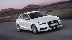 white audi sedan 2015 audi a3 sedan glacier white front hd wallpaper 24