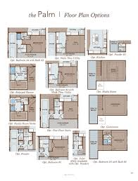 palm home plan by gehan homes in the commons at rowe lane