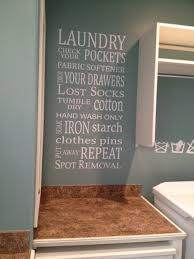 Laundry Room Wall Decor Laundry Subway Vinyl Wall Phrase Vinyl Wall Decor And More
