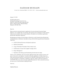 ideas collection sample cover letter for fresher electronics
