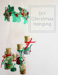 Hanging Decorations For Home Diy Christmas Hanging Decoration