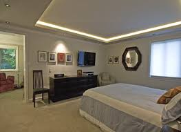 Ceiling Lighting For Bedroom Some Ideas About Tray Ceiling Lighting To Make Your Room Look