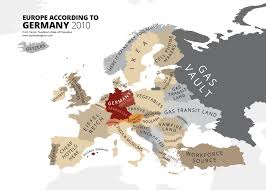 map of germany in europe these hilariously rude maps show europe according to europeans