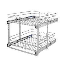 cabinet kitchen cabinet organizers lowes shop rev a shelf in