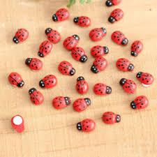 online shop garden ornaments lifelike ladybug faceplate micro